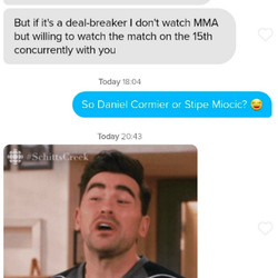 It's always a deal breaker.
