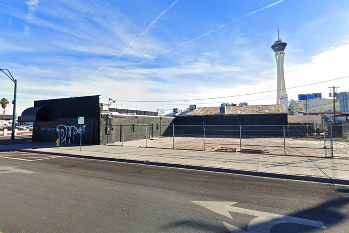 Location of a future sports tavern coming to the Arts District
