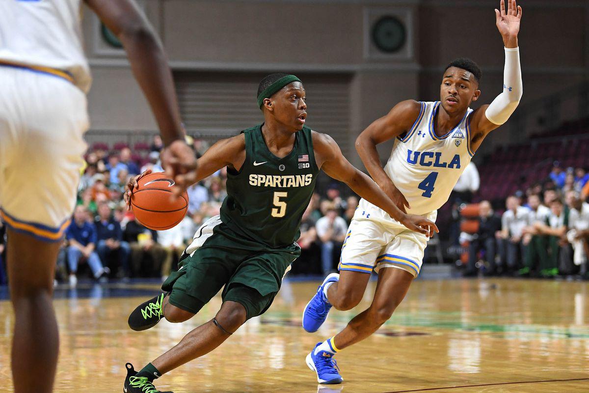 NCAA Basketball: Michigan State at UCLA