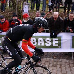 Boonen ambling along