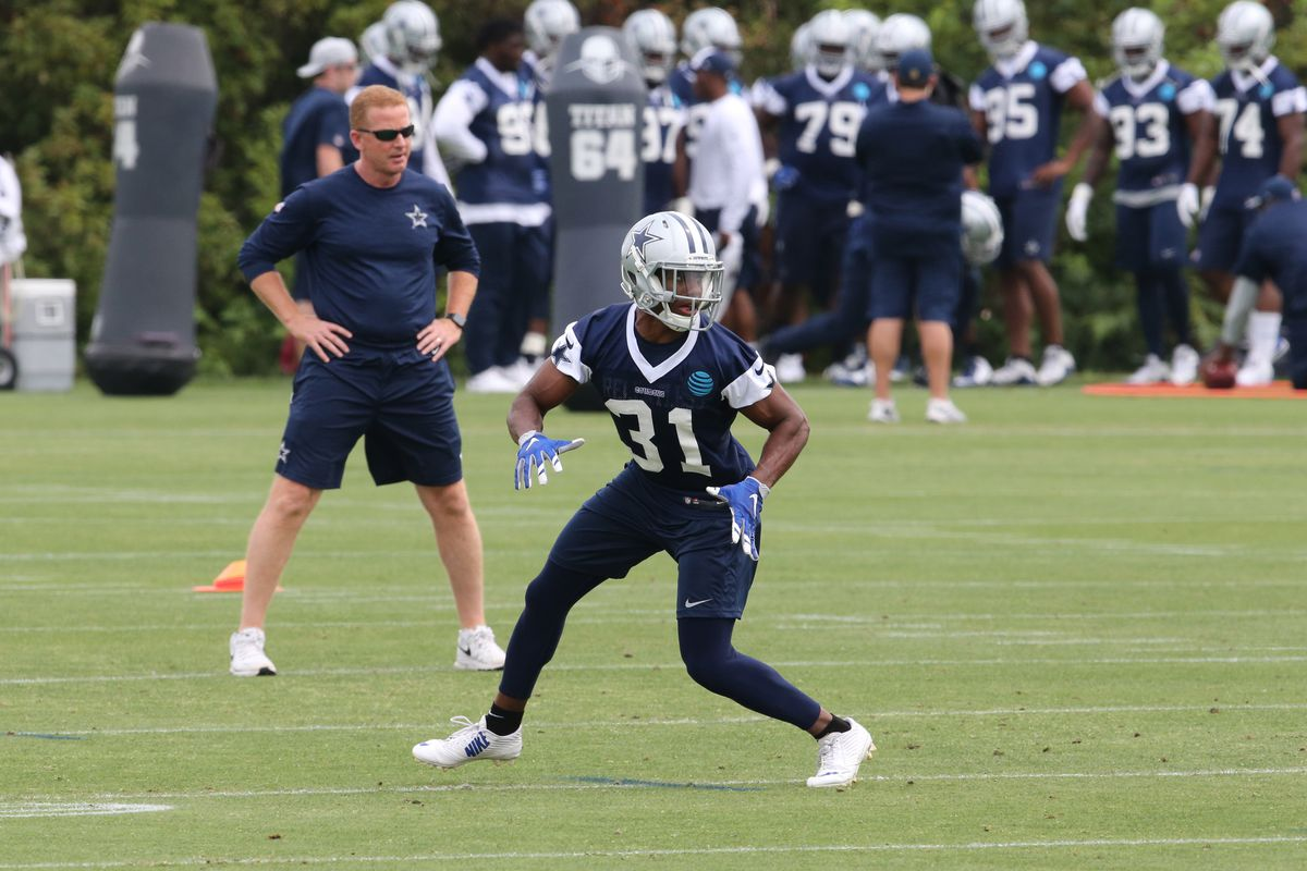 Byron Jones is going to take over the secondary during training