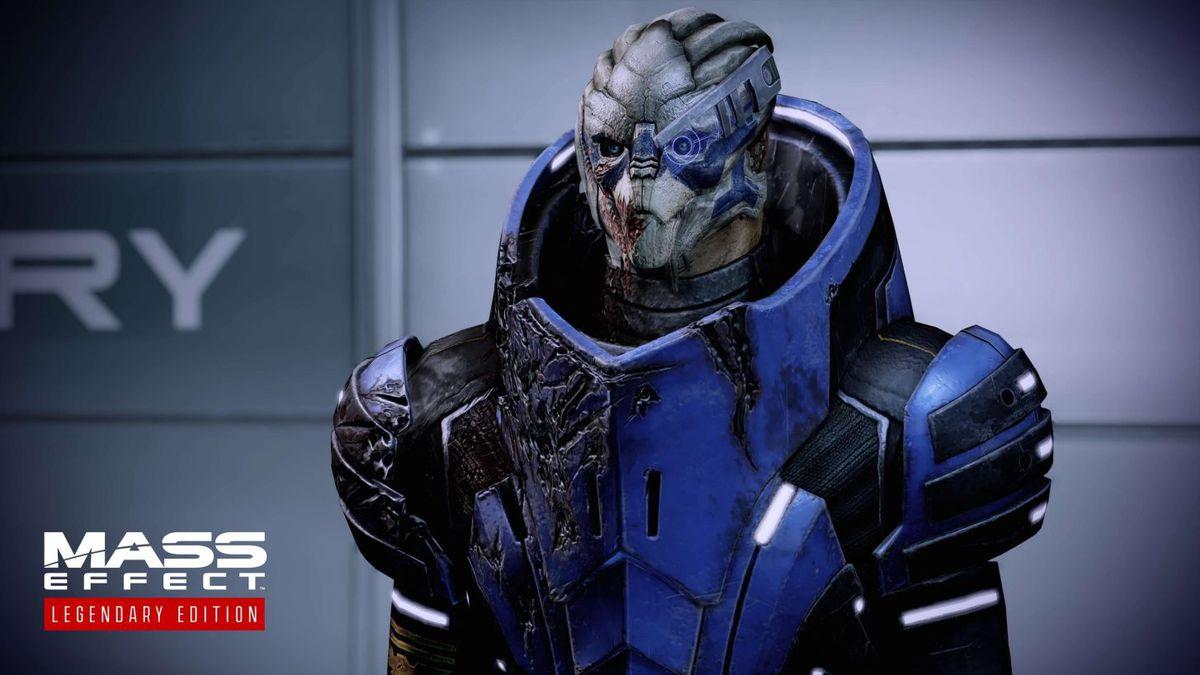 Mass Effect - Garrus Vakarian, a Turian squadmate from Mass Effect