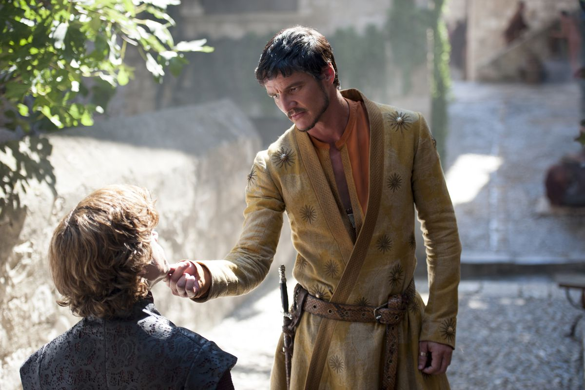 Game of Thrones - Oberyn and Tyrion