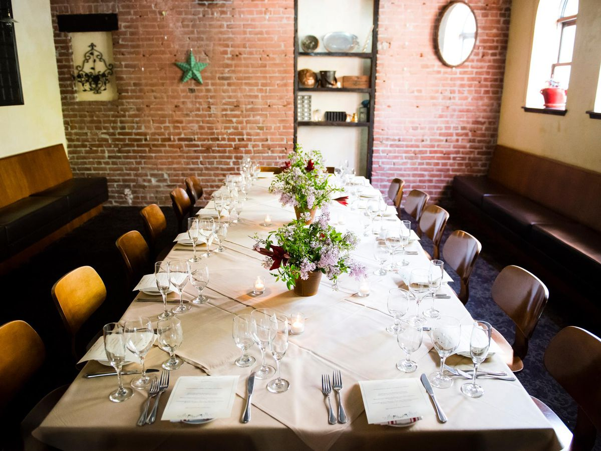 The Best Private Dining Rooms In The East Bay Eater Sf