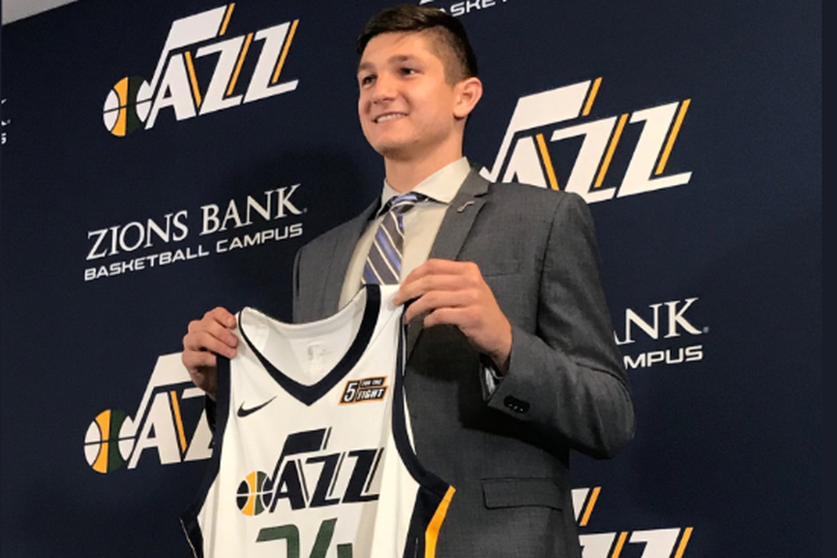 check out e8d73 ae8e2 Grayson Allen officially introduced as the newest member of ...
