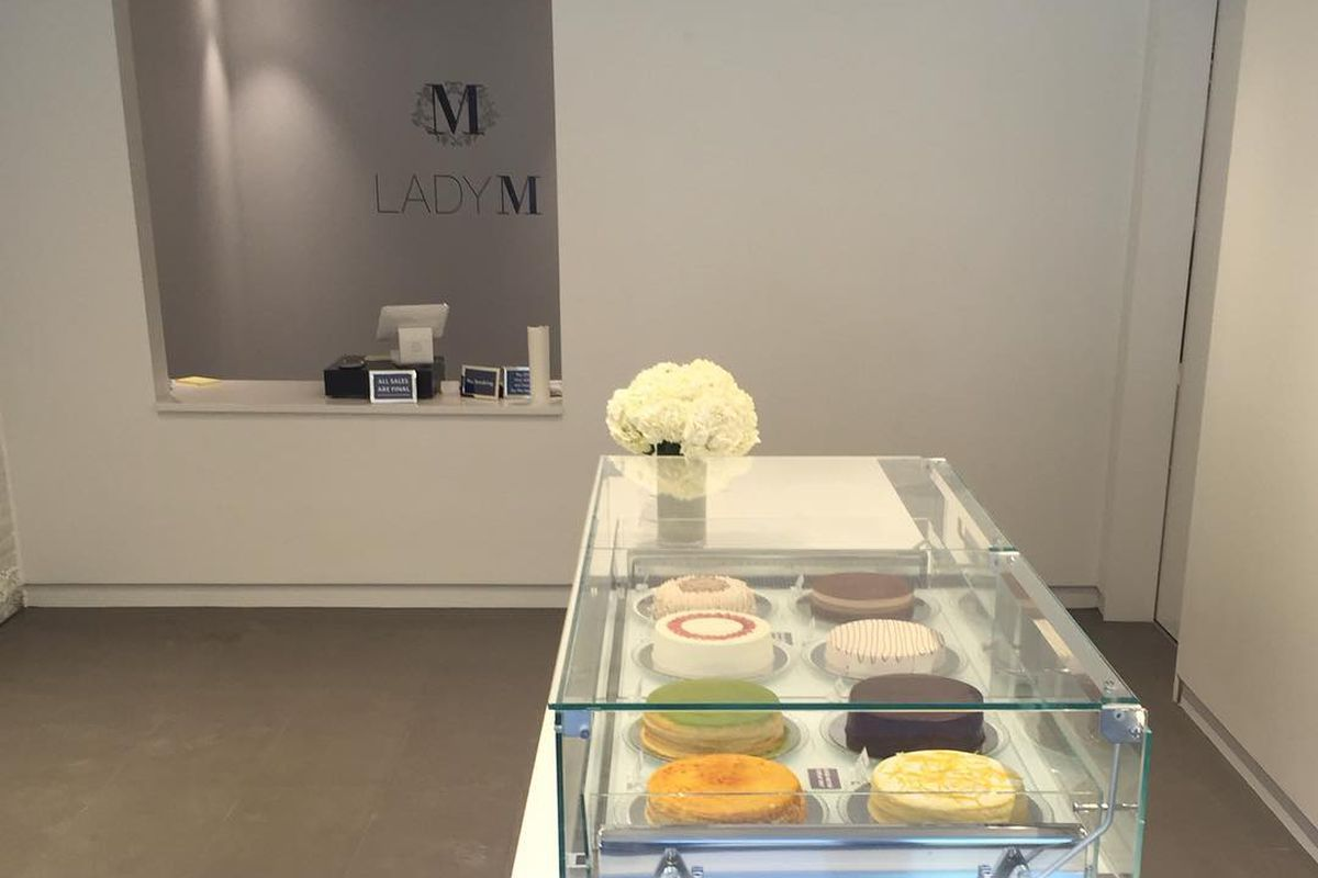 Lady M Cake Boutique Is Now Open In Back Bay Eater Boston