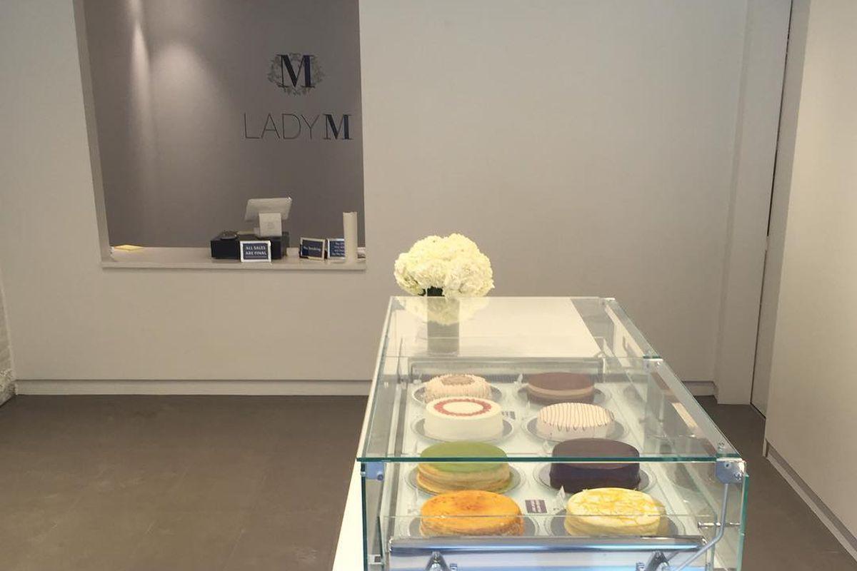 Lady M Cake Boutique Boston
