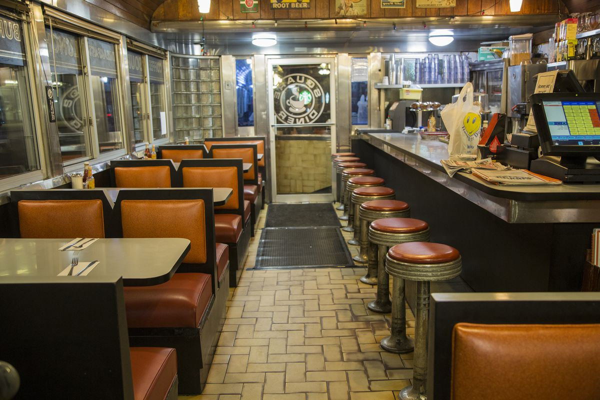 Square_diner_counter A Look Inside the Historic NYC Diners Still Keeping Traditions Alive