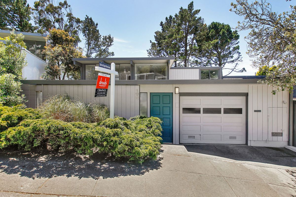 Two story eichler in diamond heights asks million for Modern homes san francisco