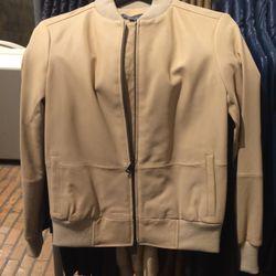 Leather jacket, size XXS, $279 (was $895)
