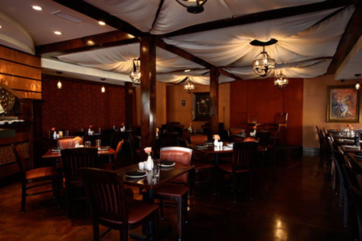 Sufi's Persian Restaurant. Photo courtesy of Sufi's.