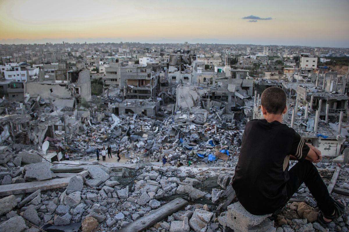 Gaza in September 2014.