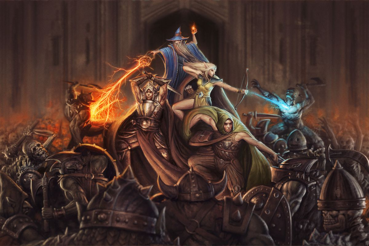 871fe901 Dungeon Dashers brings board games like Descent into a fast-paced ...