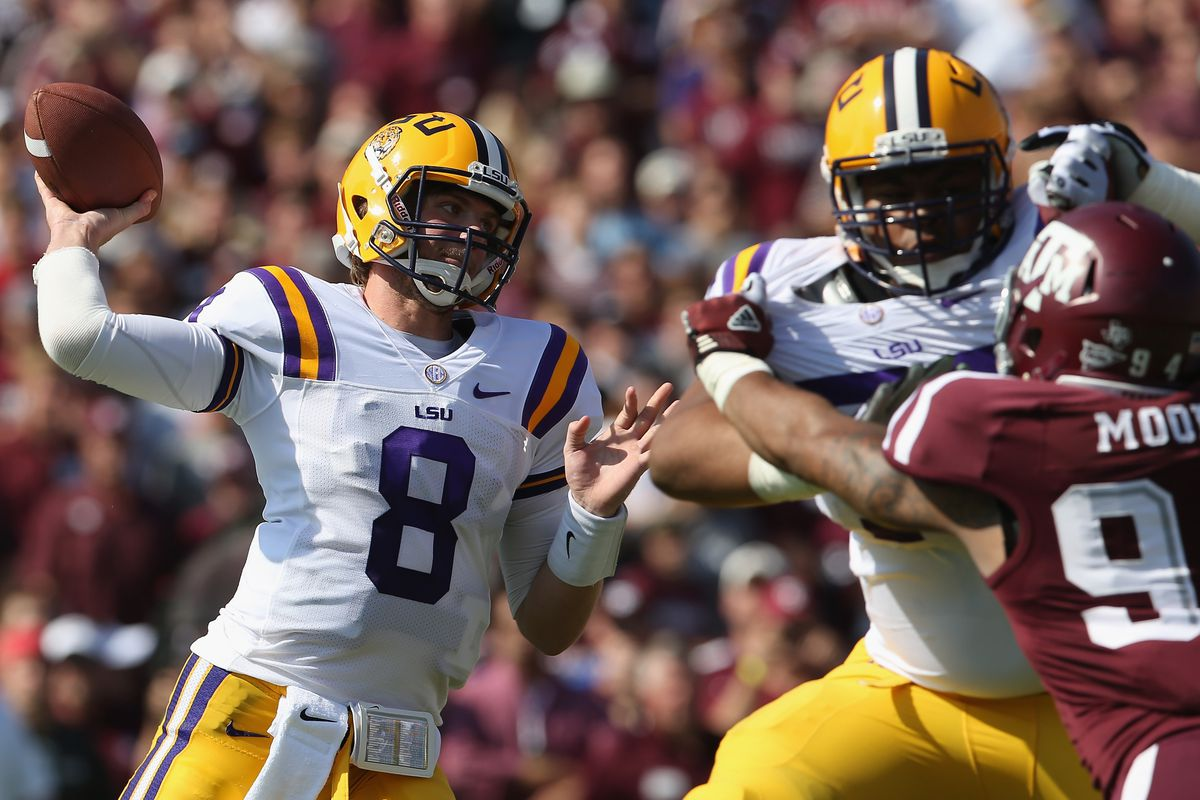 LSU vs. Texas A&M halftime score: Spencer Ware might be ...