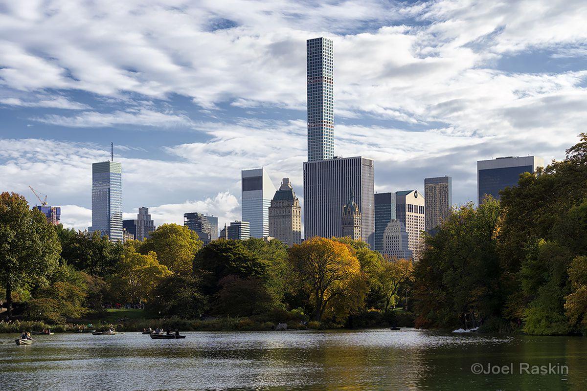 Central Park with 432 Park Avenue
