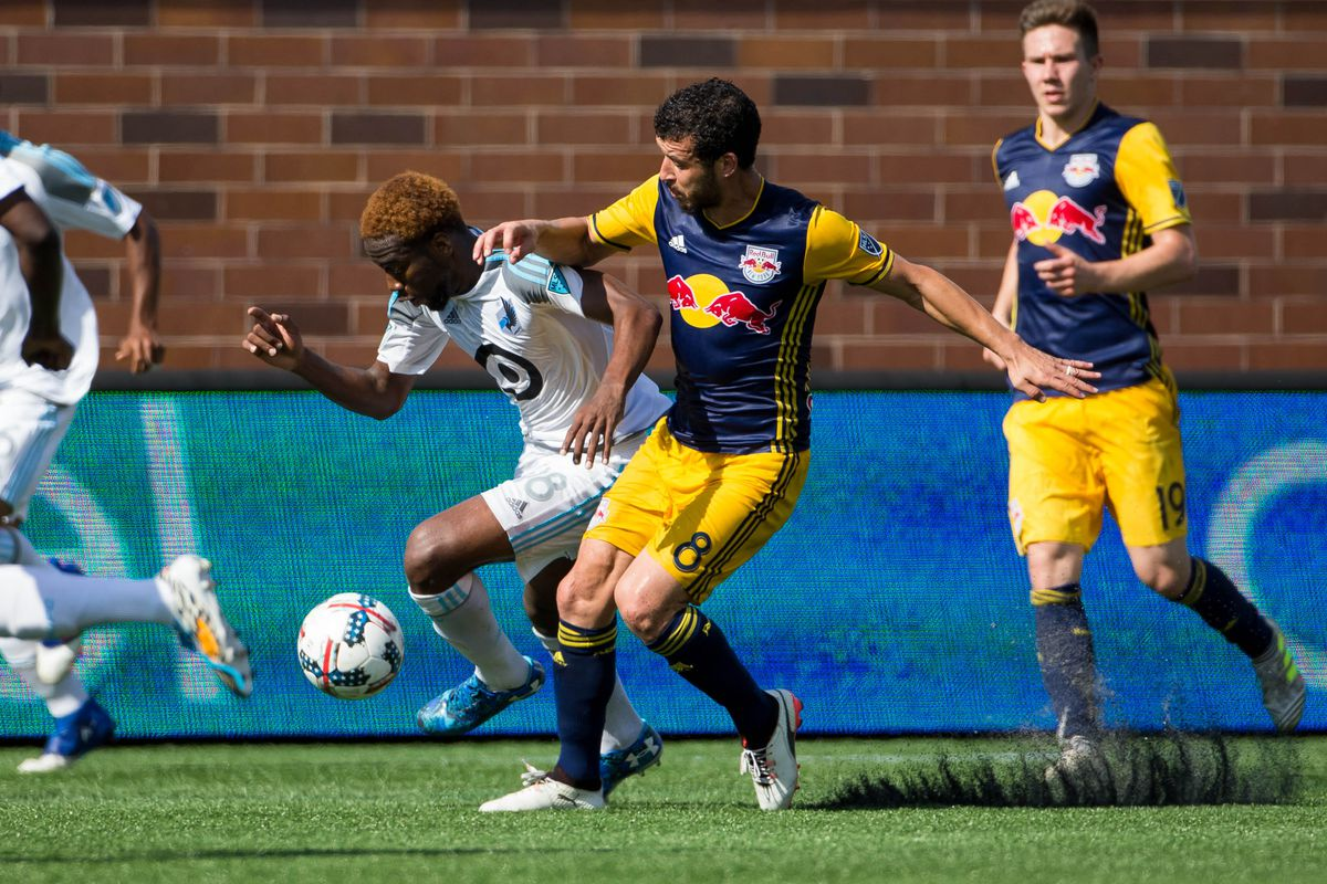 MLS: New York Red Bulls at Minnesota United FC