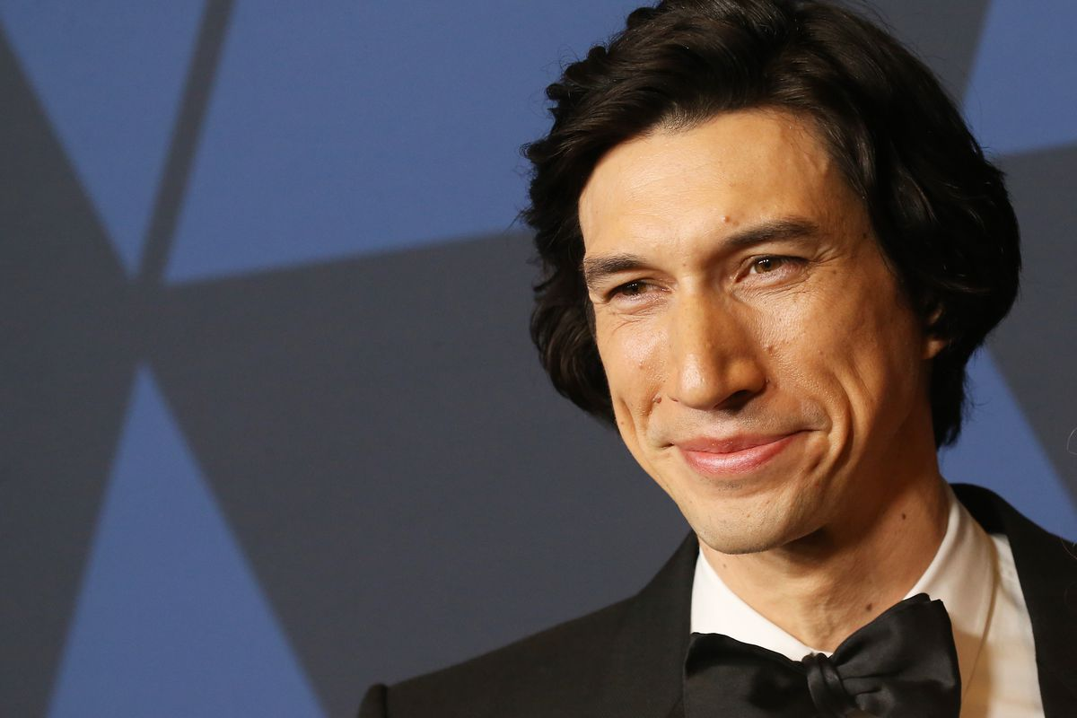 Adam Driver in a bowtie at the Academy Of Motion Picture Arts And Sciences' 11th Annual Governors Awards