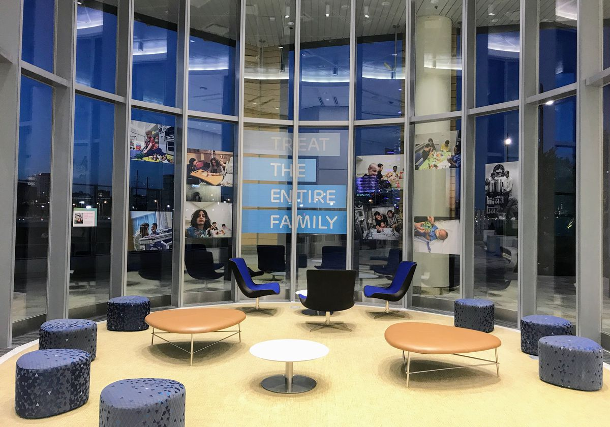 Photos: Inside CHOP's Roberts Center for Pediatric Research