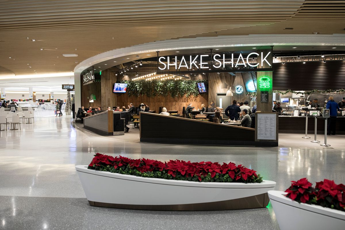 Shake Shack At Mall Of America