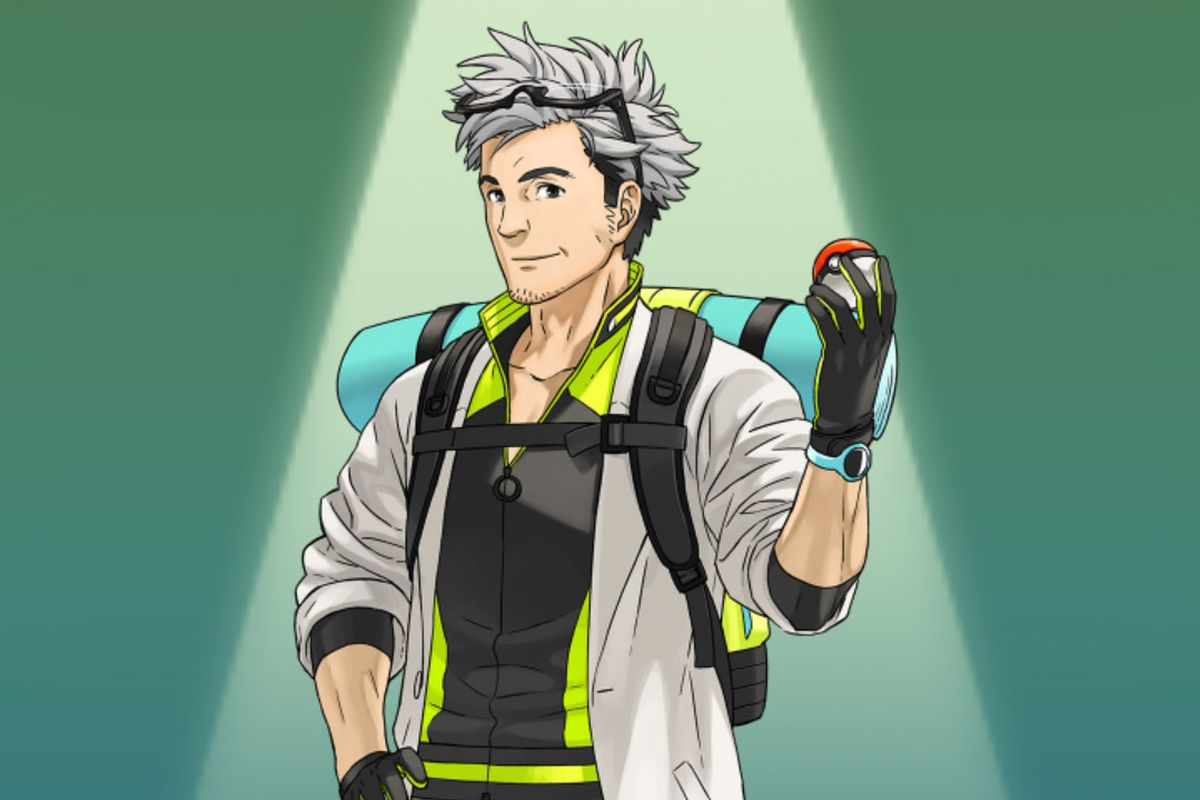 with pokmon go finally out weve been introduced to the newest professor in the franchise professor willow widely regarded as the sexiest professor in