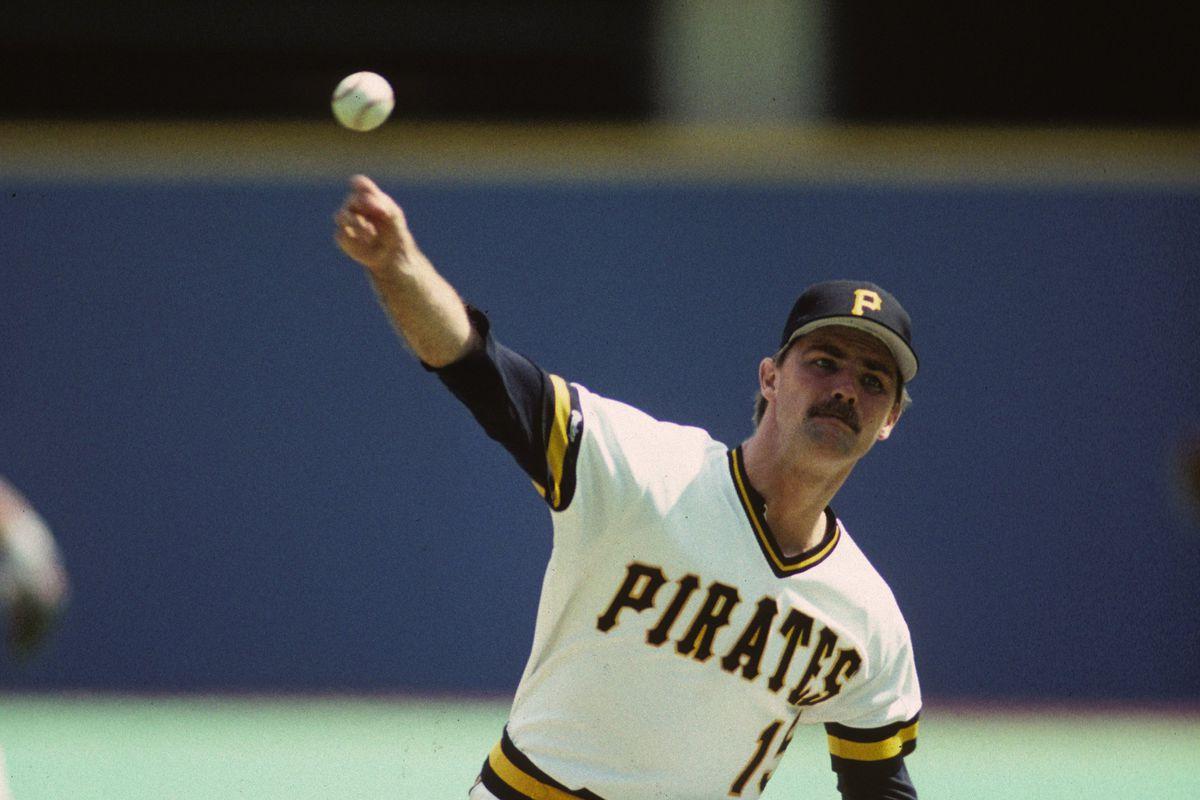 Pirates pitcher Doug Drabek