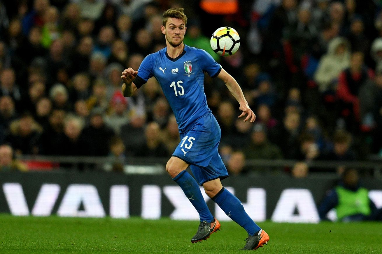 Report: Chelsea trying to close ?50 million deal for Daniele Rugani