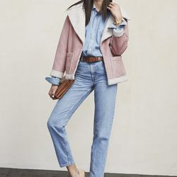 Keppel coat, $178 (also available in tan and off-white)