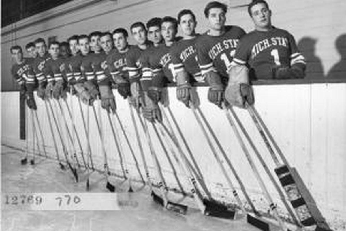 The 1951 MSU Hockey Team