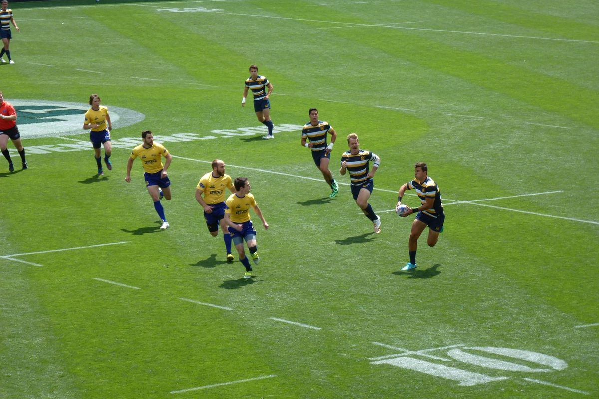 Golden Bears were unstoppable on the rugby pitch this past weekend.