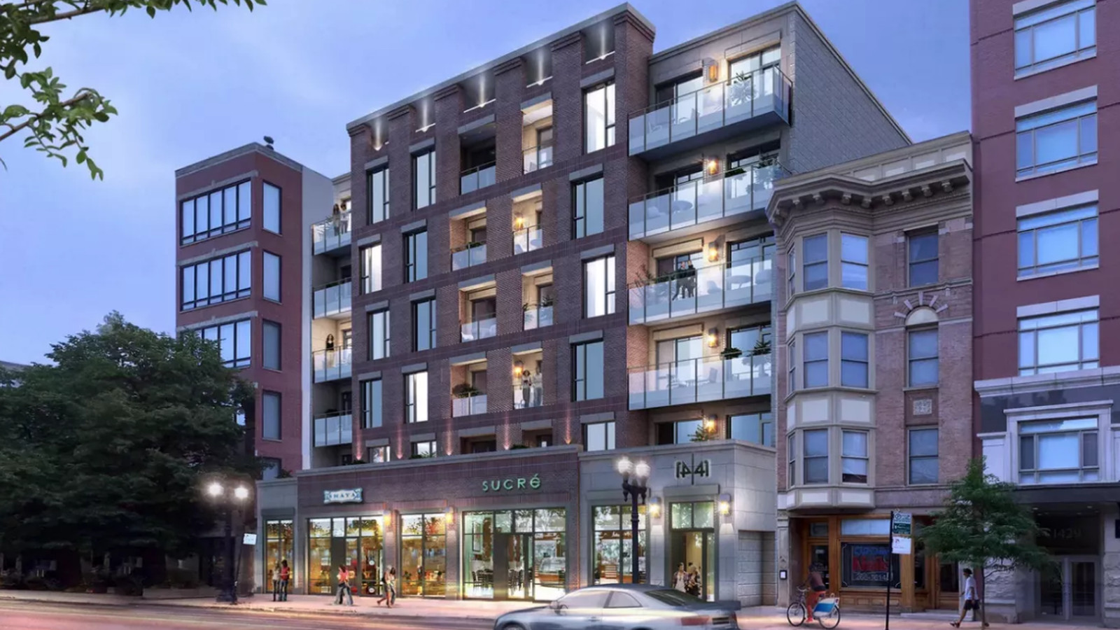 Transit-oriented apartment building cleared to rise in Old ...
