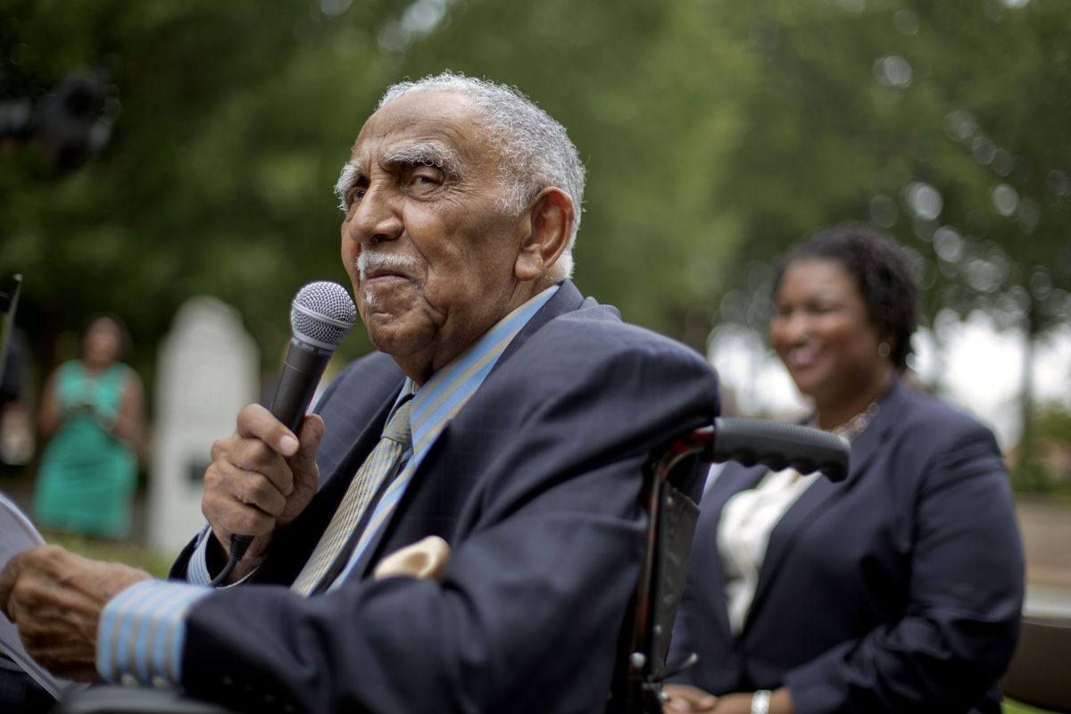The Rev. Joseph Lowery, a veteran civil rights leader who helped the Rev. Dr. Martin Luther King Jr. found the Southern Christian Leadership Conference and fought against racial discrimination, died March 27, 2020.