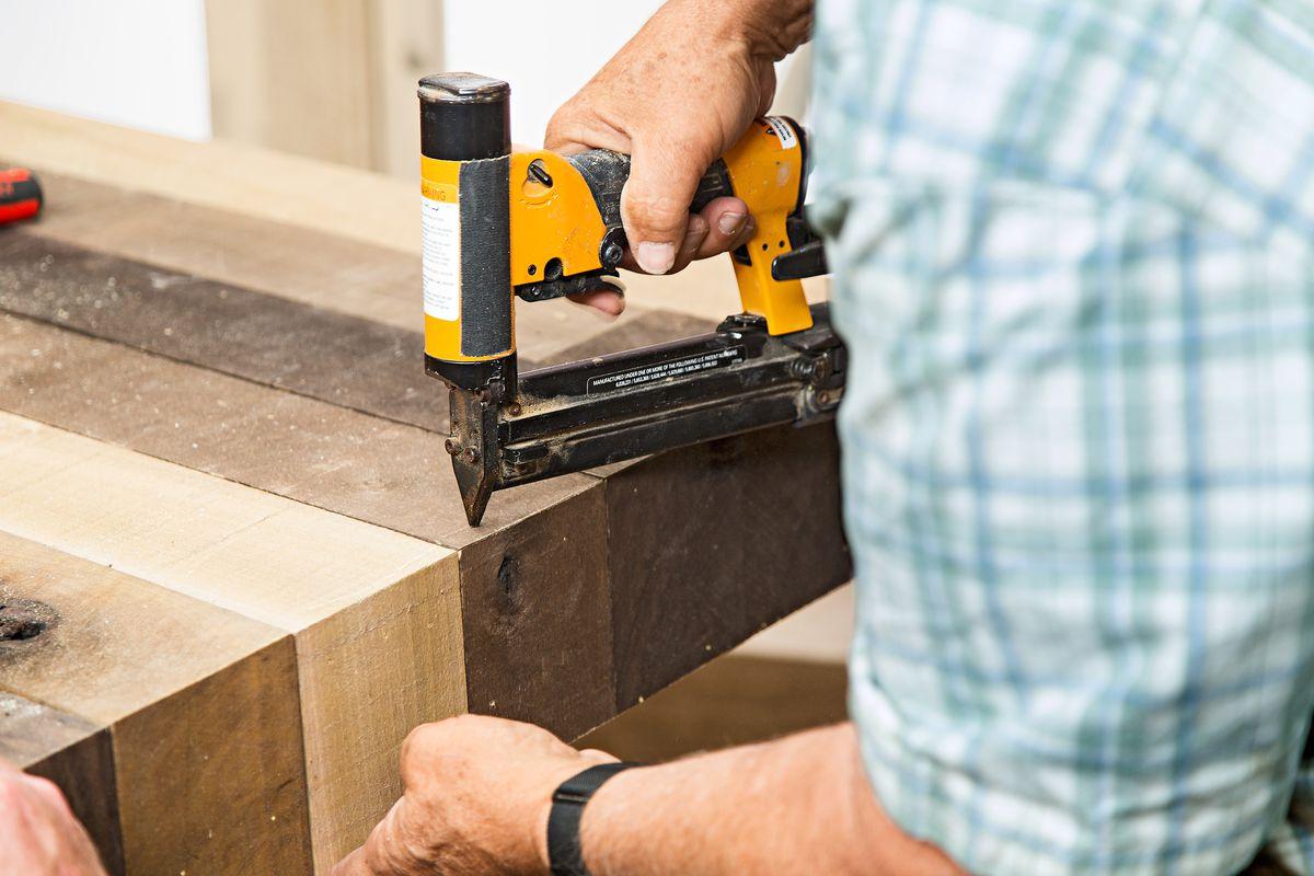 Tom Silva Nails Sides Of DIY Wood Headboard