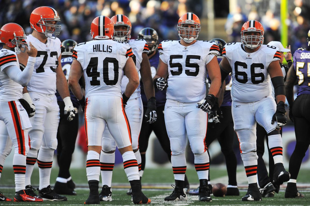 Alex Mack has been here for awhile...even through the days of RB Peyton Hillis.