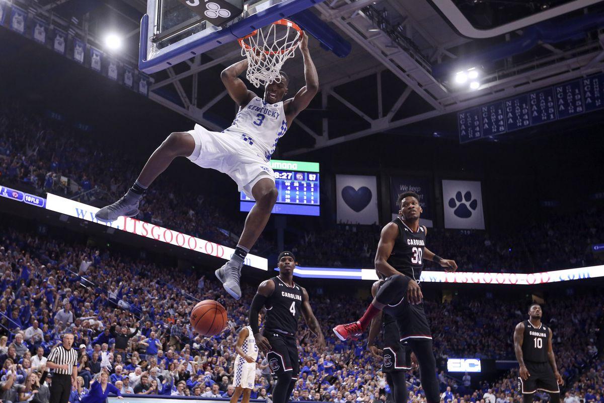 NCAA Basketball: South Carolina at Kentucky
