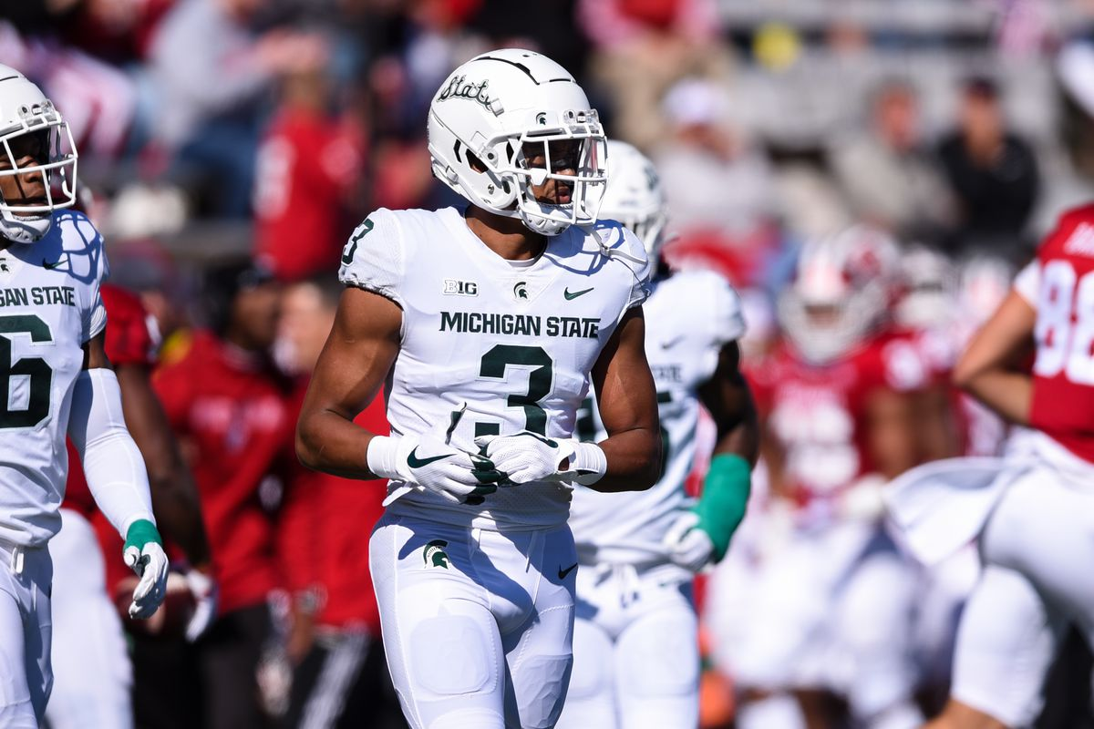 COLLEGE FOOTBALL: OCT 16 Michigan State at Indiana