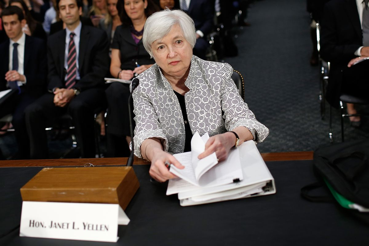 Janet Yellen and her compatriots on the FOMC didn't change policy this time around, but they did shift a few words around.