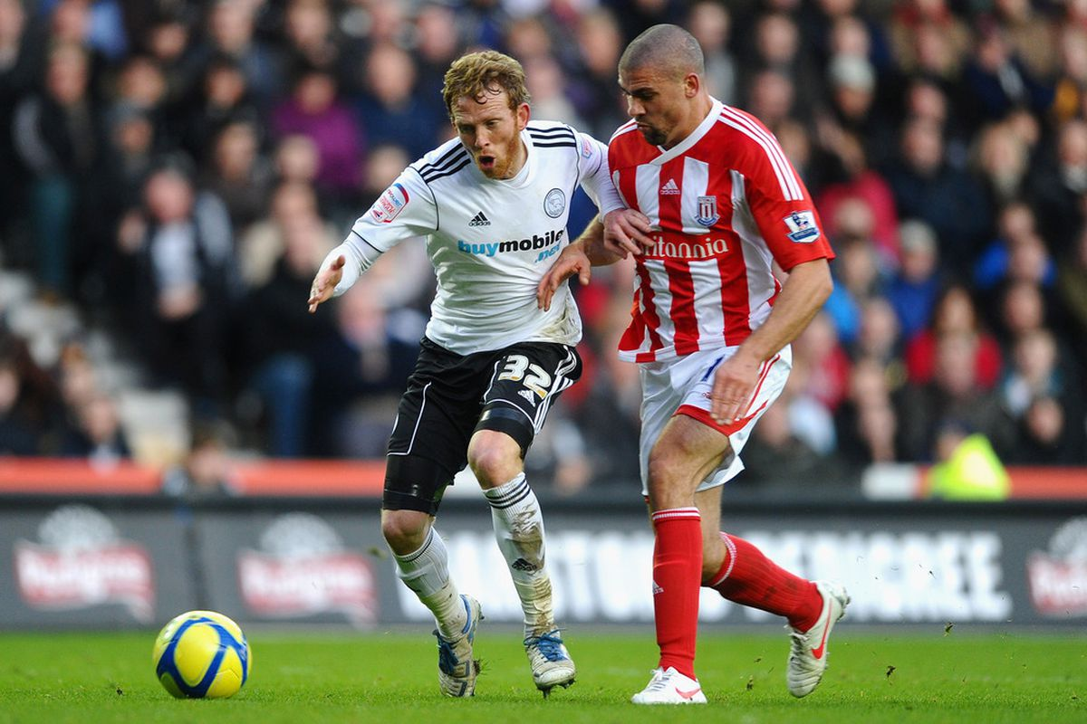 United's third summer signing, Paul Green in action for Derby County. (Photo by Laurence Griffiths/Getty Images)