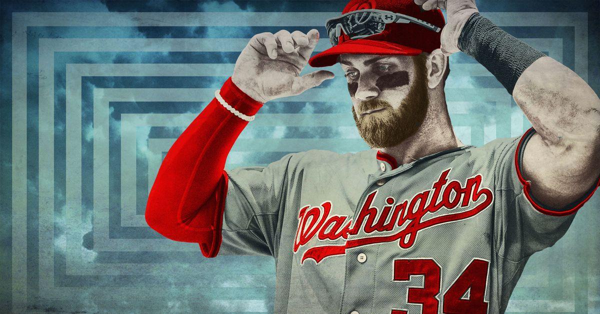 buy online 65e48 3a087 Bryce Harper, Baseball's Chosen One, Is at a Crossroads ...
