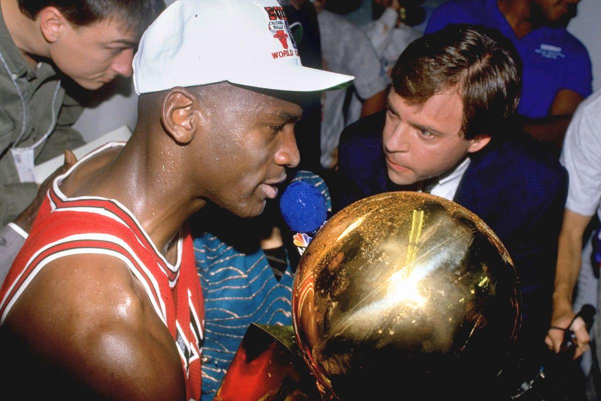 Chicago Bulls Michael Jordan, 1991 NBA Finals