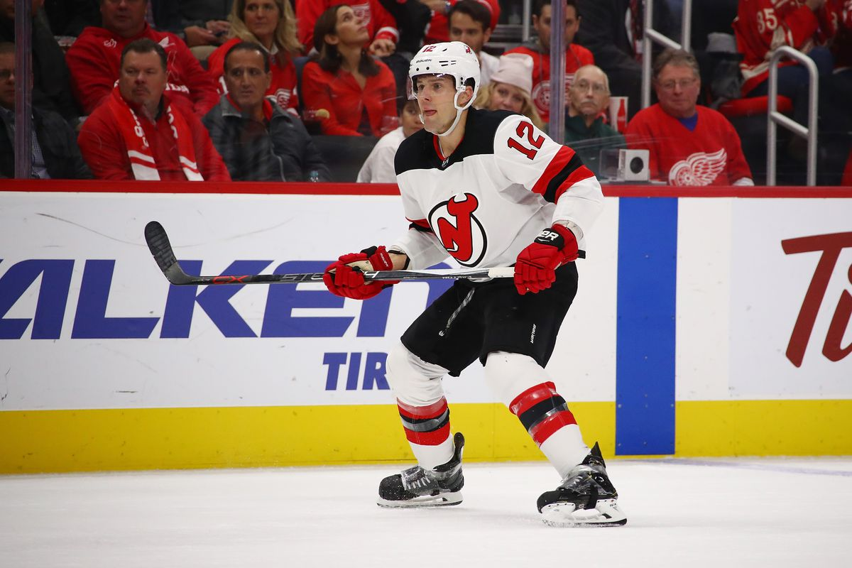 New Jersey Devils v Detroit Red Wings