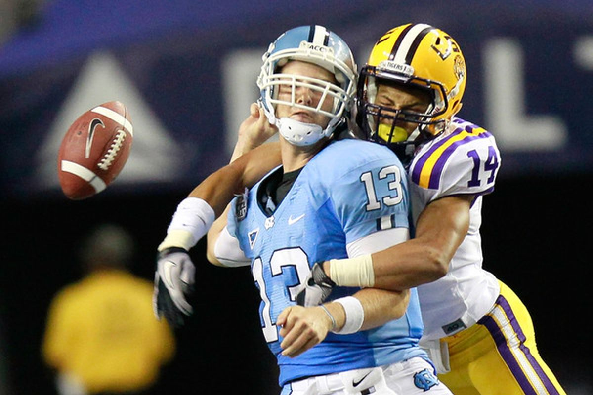 Tyrann Mathieu's transfer is like that football. The only thing we know for certain is that UNC isn't coming up with it.