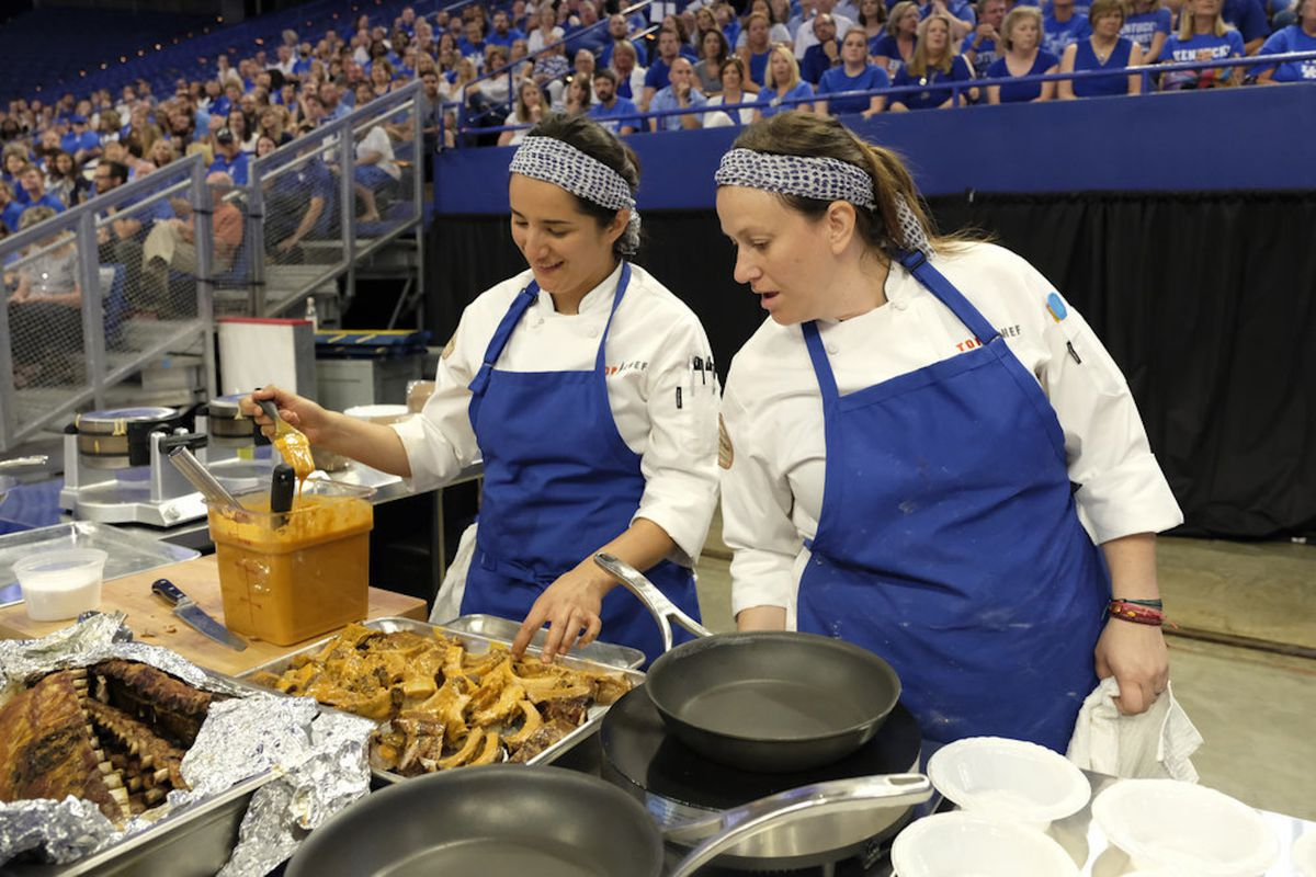 Top Chef Season 16, Episode 10: 'Hoop Dreams' Recap - Eater