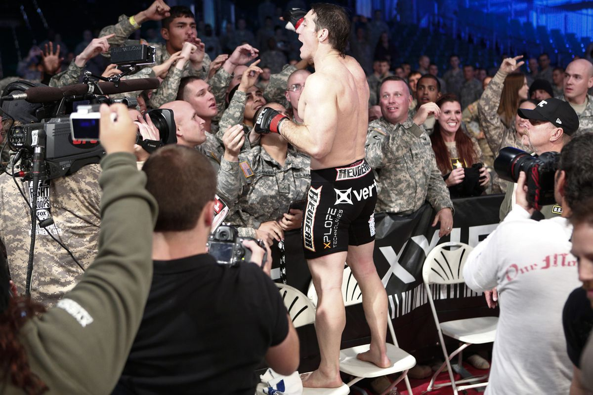 UFC Fight for the Troops 3 in ...