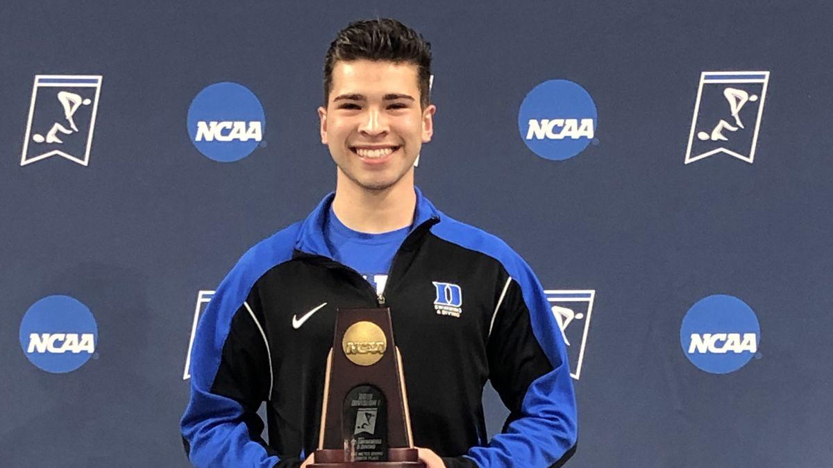 Nathaniel Hernandez at the 2019 NCAA Championships in Austin,Texas.