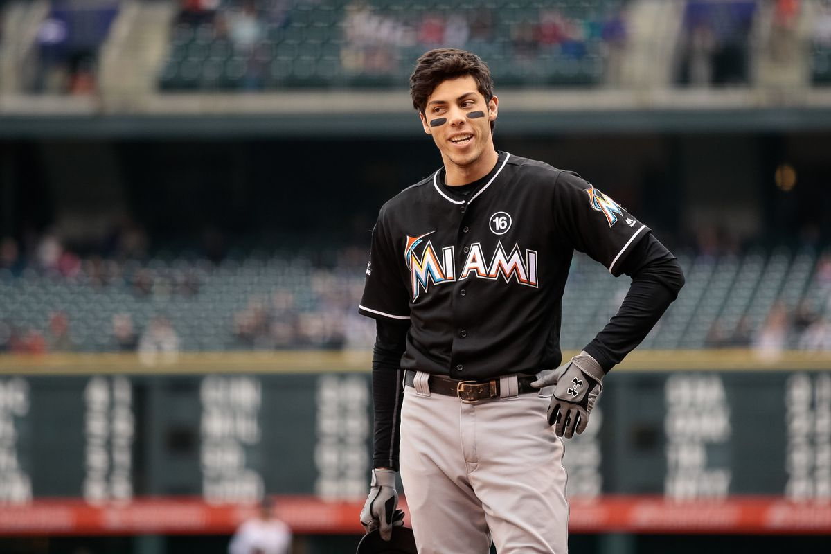 Image result for christian yelich brewers