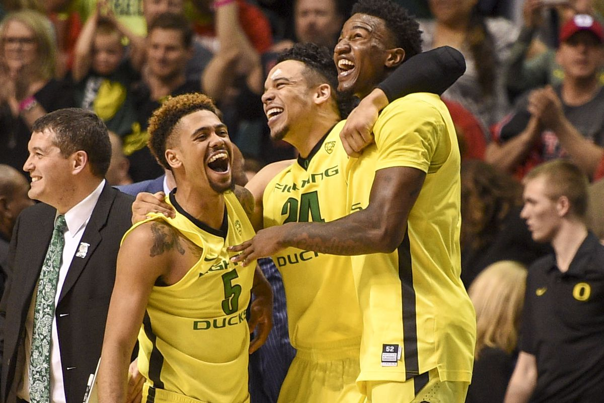 Oregon is the top seed in the West.