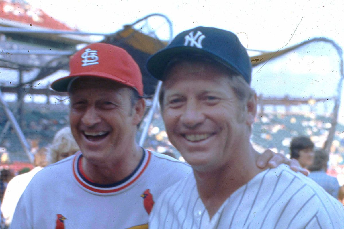Musial & Mantle At All Star Game
