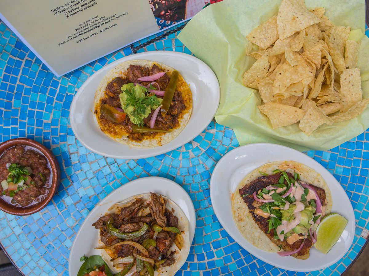 Dishes from Tamale House East