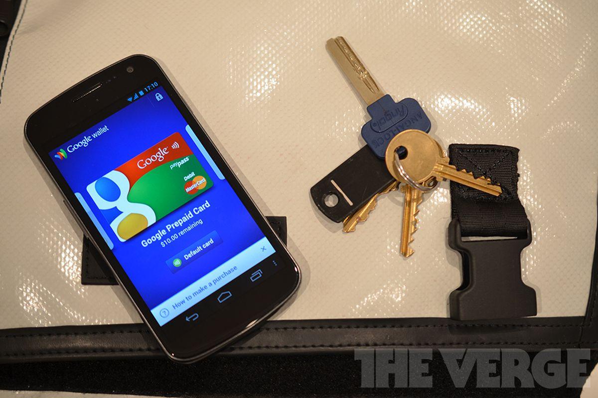 Google Wallet keys security