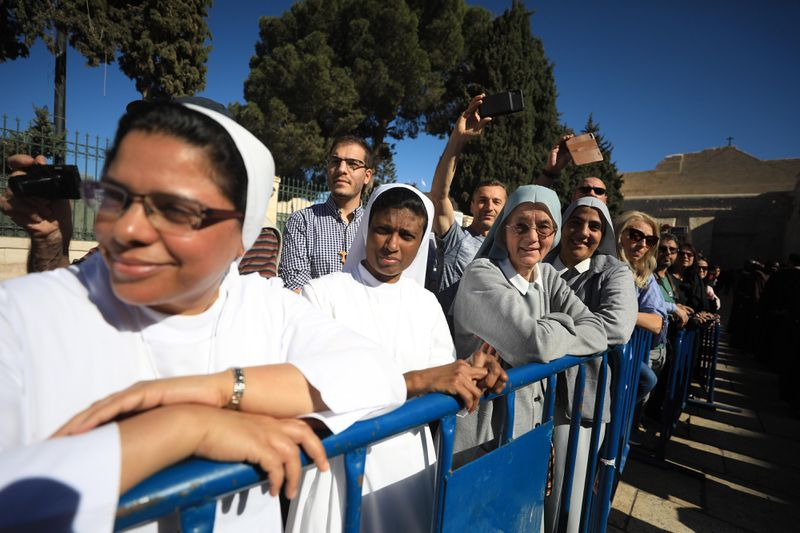 """GettyImages_1185603272 """"We are living in a touristic prison"""": Palestinians on life in the holy city of Bethlehem"""